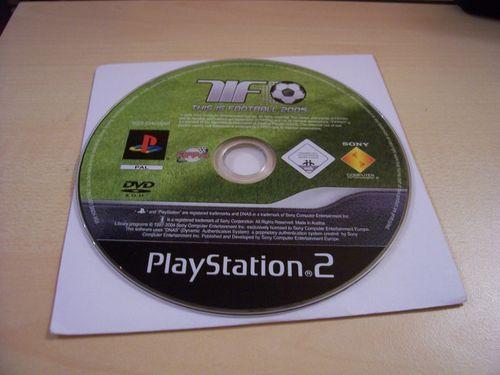 PlayStation 2 PS2 Spiel - TiF This is Football 2005  USK 0  nur CD  gebr.
