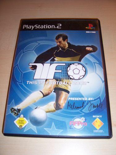 PlayStation 2 PS2 Spiel - TiF This is Football 2002  USK 0 komplett + Anleitung  gebr.