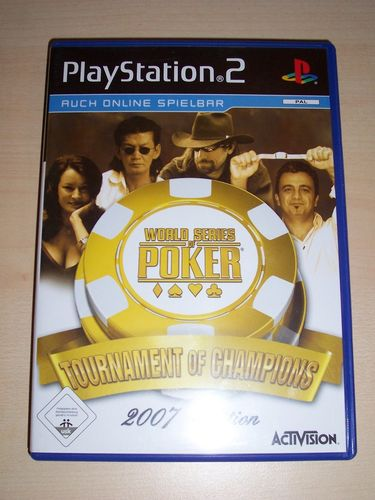 PlayStation 2 PS2 Spiel - WSOP World Series of Poker 2007  USK 0 komplett + Anleitung  gebr.