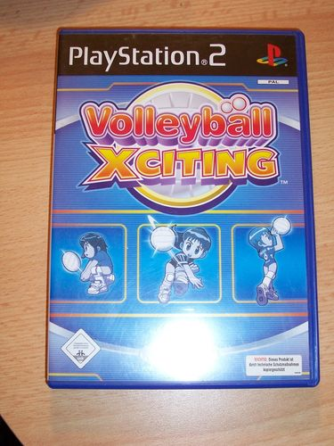 PlayStation 2 PS2 Spiel - Volleyball Xciting  USK 0 komplett + Anleitung  gebr.