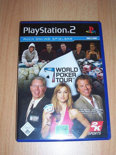 PlayStation 2 PS2 Spiel - WPT World Poker Tour 2006 2K6 USK 0 komplett + Anleitung  gebr.