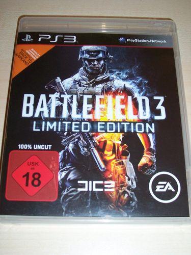 PlayStation 3 PS3 Spiel - Battlefield - Battlefield 3 - Limited   USK 18 komplett + Anleitung  gebr.