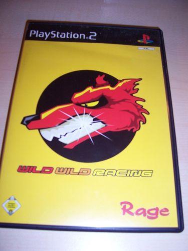 PlayStation 2 PS2 Spiel - Wild Wild Racing  USK 0 komplett + Anleitung  gebr.