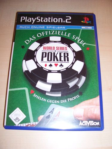 PlayStation 2 PS2 Spiel - WSOP World Series of Poker 2006  USK 0 komplett + Anleitung  gebr.