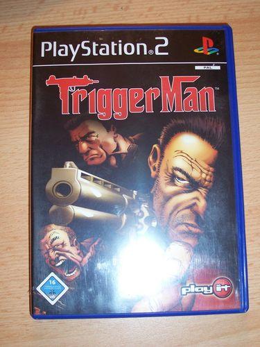 PlayStation 2 PS2 Spiel - Trigger Man  USK 16 komplett + Anleitung  gebr.