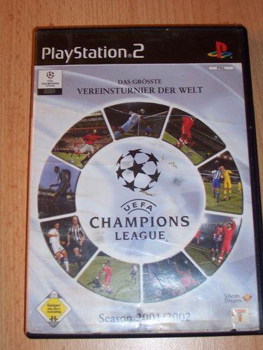 PlayStation 2 PS2 Spiel - UEFA Champions League 2001 / 2002  USK 0 komplett ohne Anleitung  gebr.