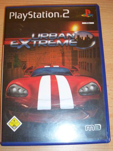 PlayStation 2 PS2 Spiel - Urban Extreme  USK 6 komplett + Anleitung  gebr.