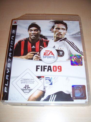 PlayStation 3 PS3 Spiel - FIFA Football 2009 09 USK 0 komplett + Anleitung gebr.