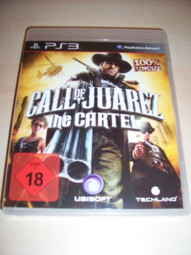 PlayStation 3 PS3 Spiel - Call of Juarez - The Cartel  Western  USK 18 komplett + Anleitung  gebr.