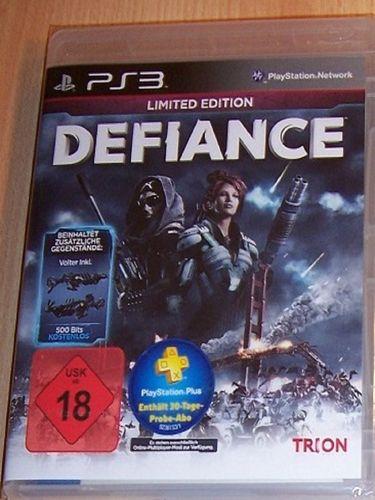 PlayStation 3 PS3 Spiel - Defiance Limited Edition  USK 18 komplett + Anleitung  NEU & OVP