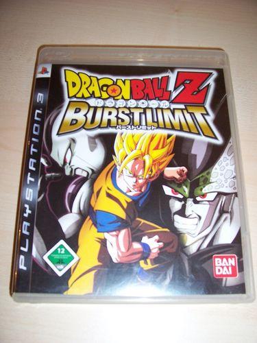 PlayStation 3 PS3 Spiel - Dragonball Z Burstlimit USK 12 komplett + Anleitung  gebr.