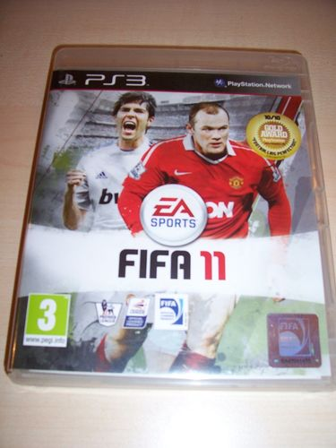 PlayStation 3 PS3 Spiel - FIFA Football 2011 11 UK Version USK 0 komplett + Anleitung  gebr.