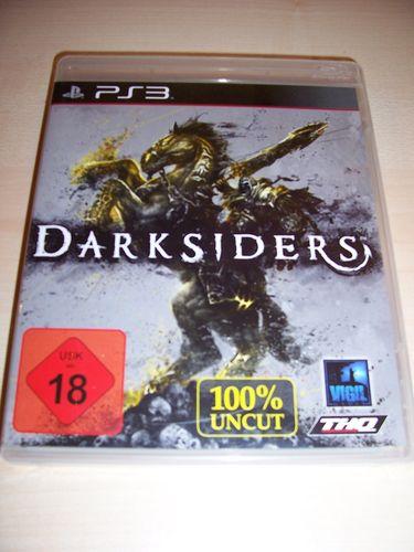 PlayStation 3 PS3 Spiel - Darksiders  100% Uncut  USK 18 komplett + Anleitung  gebr.