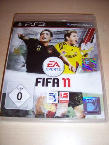 PlayStation 3 PS3 Spiel - FIFA Football 2011 11 USK 0 komplett ohne Anleitung  gebr.
