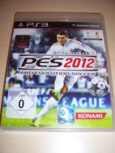PlayStation 3 PS3 Spiel - Pro Evolution Soccer 2012 PES 12 USK 0 komplett + Anleitung gebr.