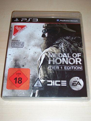 PlayStation 3 PS3 Spiel - MoH Medal of Honor - Tier 1 Edition USK 18 komplett + Anleitung  gebr.