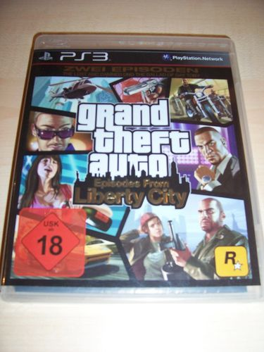 PlayStation 3 PS3 Spiel - GTA Grand Theft Auto Episodes from Liberty City  USK 18 komplett  gebr.