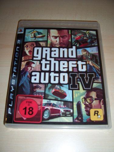 PlayStation 3 PS3 Spiel - GTA Grand Theft Auto IV 4 Liberty City  USK 18 komplett + Anleitung  gebr.