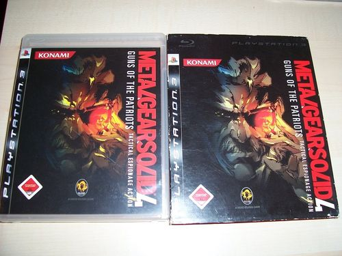 PlayStation 3 PS3 Spiel - Metal Gear Solid 4 Guns of the Patriots USK 18 komplett + Anleitung  gebr.