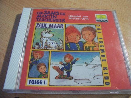 Ein Sams für Martin Taschenbier Hörspiel CD Folge 1 Das fremde Kind  Paul Maar  gebr.