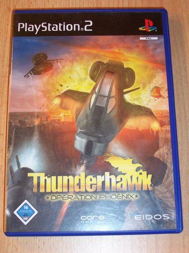 PlayStation 2 PS2 Spiel - Thunderhawk - Operation Phoenix  USK 16 komplett ohne Anleitung  gebr.