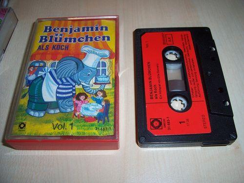 Benjamin Blümchen Hörspiel MC 023 23 als Koch  Kassette Auflage Sonocord 31483-1 gebr.