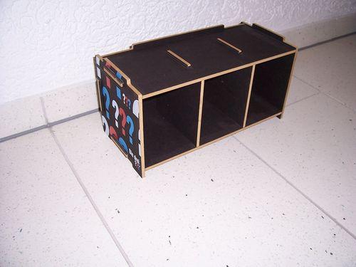 Die drei Fragezeichen 3 ??? Fanartikel CD Regal Box Mediabox für 30 CDs von Werkhaus gebr.