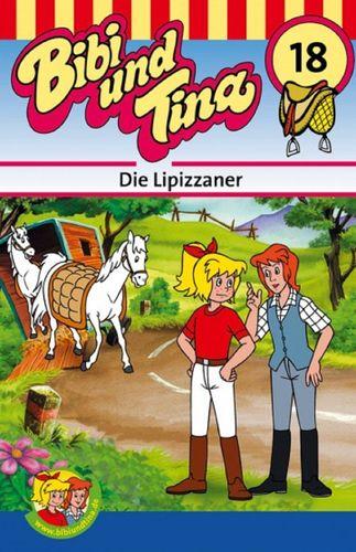 Bibi und Tina Hörspiel MC 018 18 Die Lipizzaner  Kassette 3. Auflage blau Kiddinx NEU & OVP