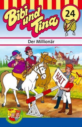 Bibi und Tina Hörspiel MC 024 24 Der Millionär  Kassette 3. Auflage blau Kiddinx NEU & OVP
