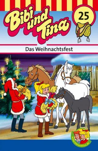 Bibi und Tina Hörspiel MC 025 25 Das Weihnachtsfest  Kassette 3. Auflage blau Kiddinx NEU & OVP