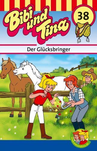 Bibi und Tina Hörspiel MC 038 38 Der Glücksbringer  Kassette 3. Auflage blau Kiddinx NEU & OVP