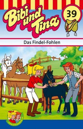 Bibi und Tina Hörspiel MC 039 39 Das Findel-Fohlen  Kassette 3. Auflage blau Kiddinx NEU & OVP