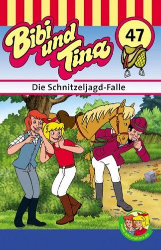 Bibi und Tina Hörspiel MC 047 47 Die Schnitzeljagd-Falle  Kassette 3. Auflage blau Kiddinx NEU & OVP