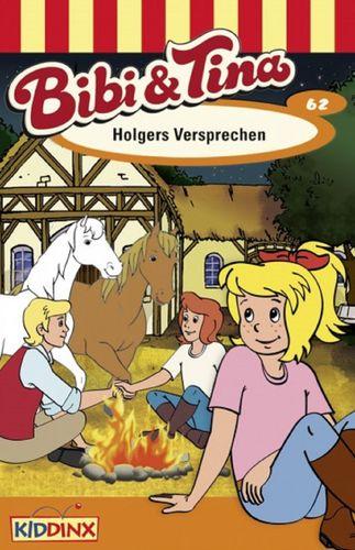 Bibi und Tina Hörspiel MC 062 62 Holgers Versprechen  Kassette 3. Auflage blau Kiddinx NEU & OVP
