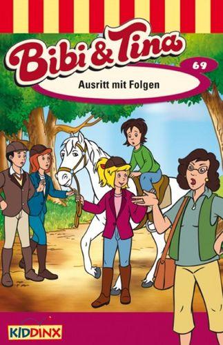 Bibi und Tina Hörspiel MC 069 69 Austritt mit Folgen  Kassette 3. Auflage blau Kiddinx NEU & OVP