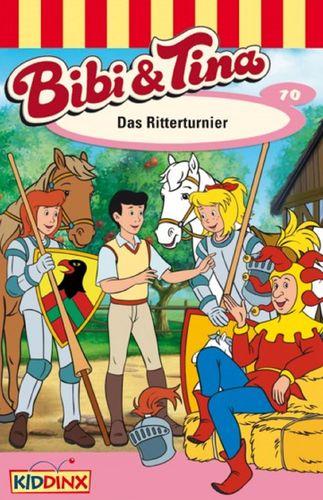 Bibi und Tina Hörspiel MC 070 70 Das Ritterturnier  Kassette 3. Auflage blau Kiddinx NEU & OVP