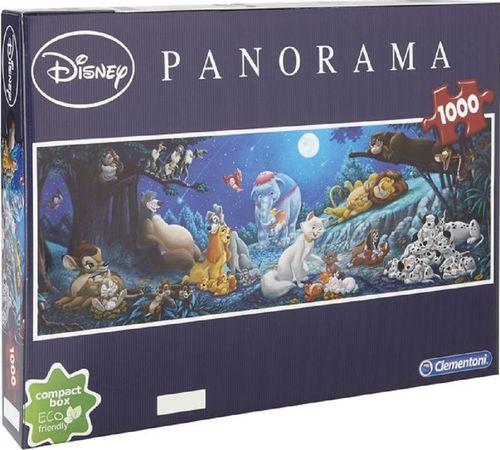 Puzzle 1000 Teile Panorama - Walt Disney Sweet Night von Clementoni NEU & OVP