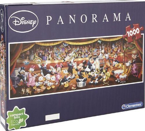 Puzzle 1000 Teile Panorama - Walt Disney Classic von Clementoni NEU & OVP