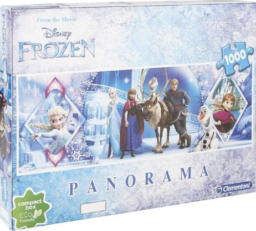 Puzzle 1000 Teile Panorama - Walt Disney Frozen from the Movie von Clementoni NEU & OVP