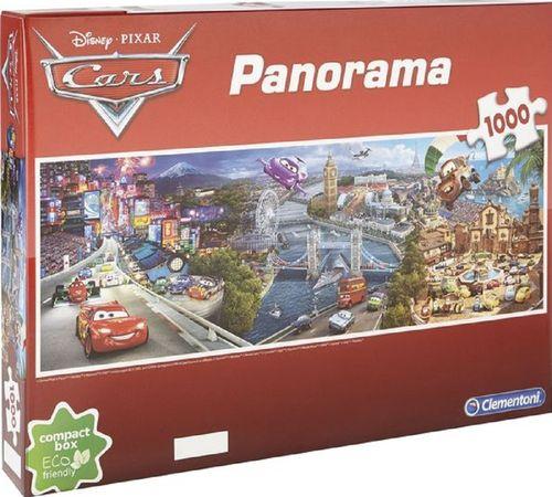 Puzzle 1000 Teile Panorama - Walt Disney Cars von Clementoni NEU & OVP