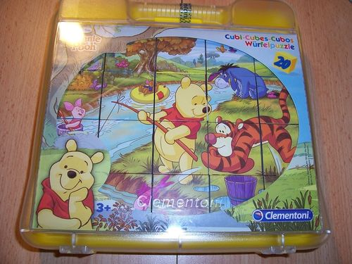 Puzzle 6x 20 Teile Würfelpuzzle - Walt Disney Winnie Puuh Winnie the Pooh von Clementoni NEU & OVP