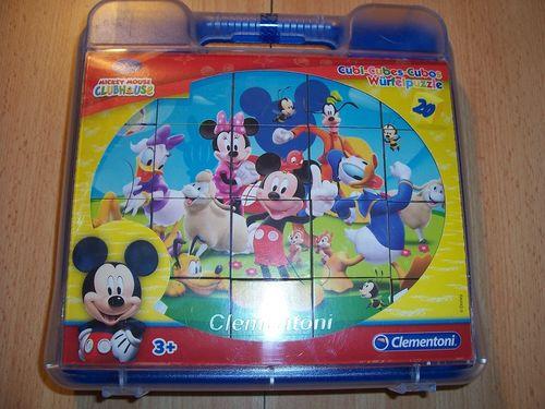 Puzzle 6x 20 Teile Würfelpuzzle - Walt Disney Micky Maus Clubhaus  von Clementoni NEU & OVP