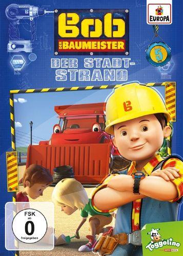 DVD Bob der Baumeister 05 5 Der Stadt-Strand TV-Serie 4 Episoden 2016 NEU & OVP
