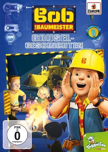 DVD Bob der Baumeister 06 6 Gruselgeschichten  TV-Serie 4 Episoden 2016 NEU & OVP