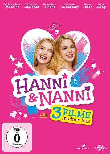 DVD Hanni und Nanni 3er Kinofilm-Box mit Kinofilm 1 + 2 + 3 Film komplett Sammlung 3x DVDs NEU & OVP