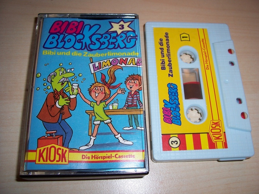 Bibi Blocksberg Hörspiel Mc 003 3 Die Zauberlimonade Kassette 3 Auflage Alt Rot Gelb Kiosk Gebr
