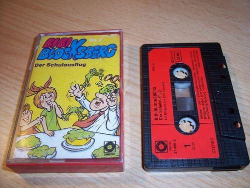 Bibi Blocksberg Hörspiel MC 011 11 Der Schulausflug Kassette Auflage Sonocord 31406-2 gebr.