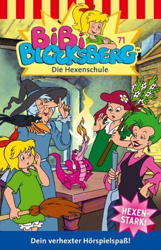 Bibi Blocksberg Hörspiel MC 071 71 Die Hexenschule Kassette 6. Auflage blau Kiddinx NEU & OVP