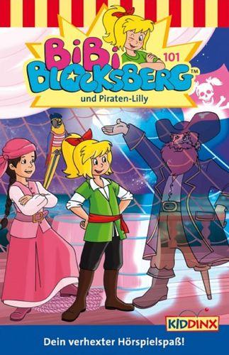 Bibi Blocksberg Hörspiel MC 101 und Piraten-Lilly Kassette 6. Auflage blau Kiddinx NEU & OVP