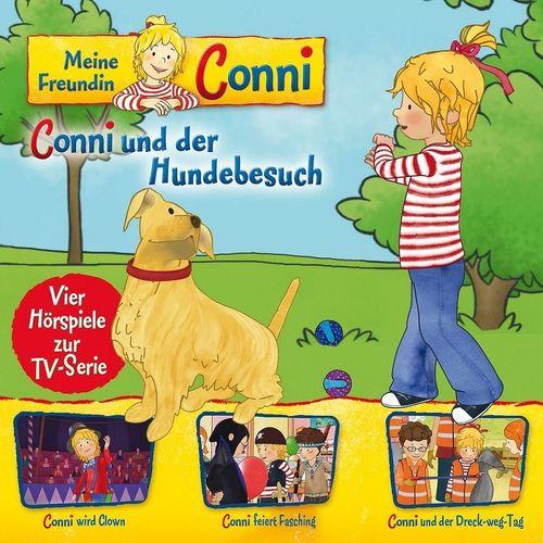 Conni Hörspiel zur TV-Serie CD 009 9 und der Hundebesuch - 4 Geschichten NEU & OVP